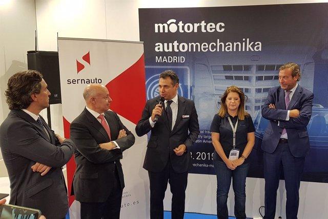 IFEMA Y SERNAUTO Presentan En Frankfurt La 15ª Edición De MOTORTEC AUTOMECHANIKA