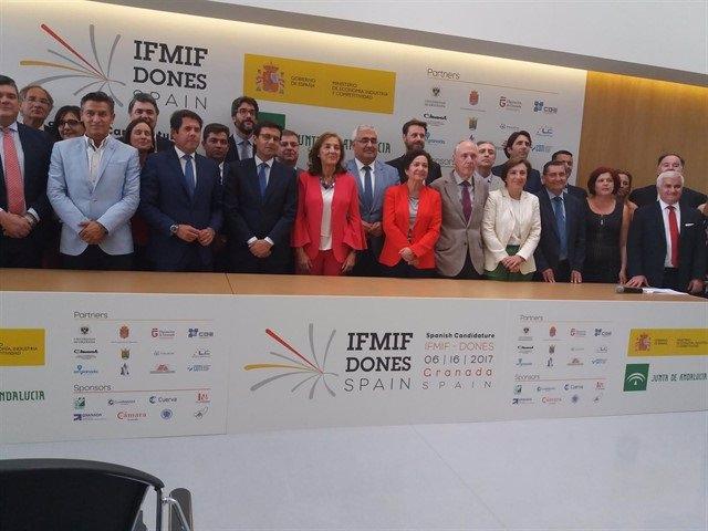 Apoyo institucional al proyecto Ifmif-Dones