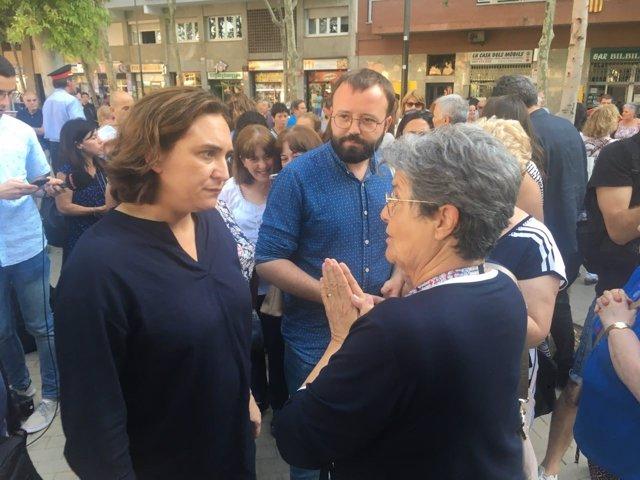 L'alcaldessa de Barcelona Ada Colau