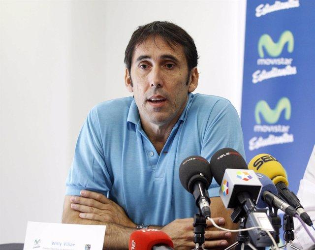 Willy Villar, director deportivo de Estudiantes