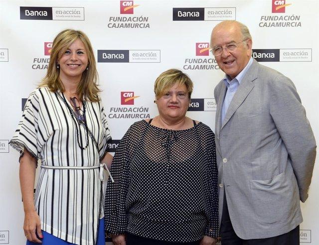 CONVENIO Bankia y Fundación Cajamurcia con FAMDIF y AMUPHEB