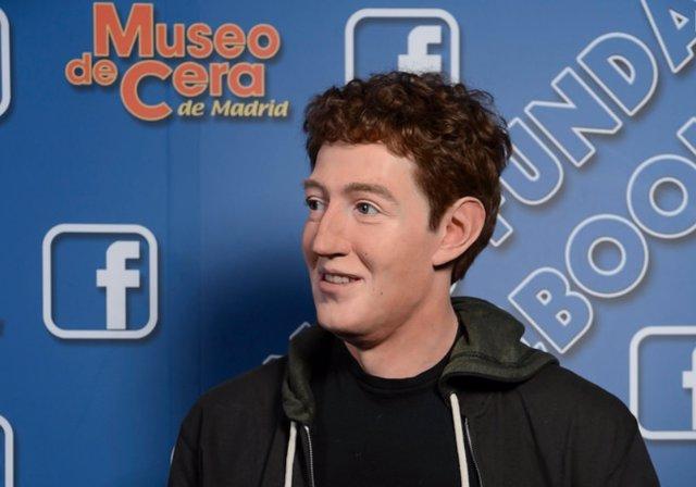 Figura de Mark Zuckerberg en el Museo de Cera