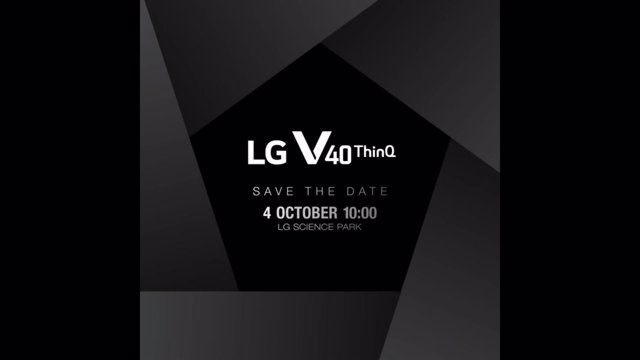 Presentación LG V40 ThinQ