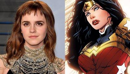 Emma Watson se disfraza de Wonder Woman para su club de lectura feminista