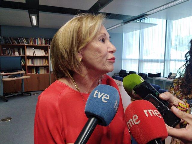 Delegada provincial de Educación de Cáceres, Maria Luis Guillén