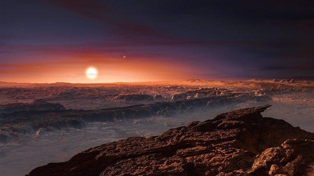 Próxima b puede ser habitable, incluso bloqueado por su estrella