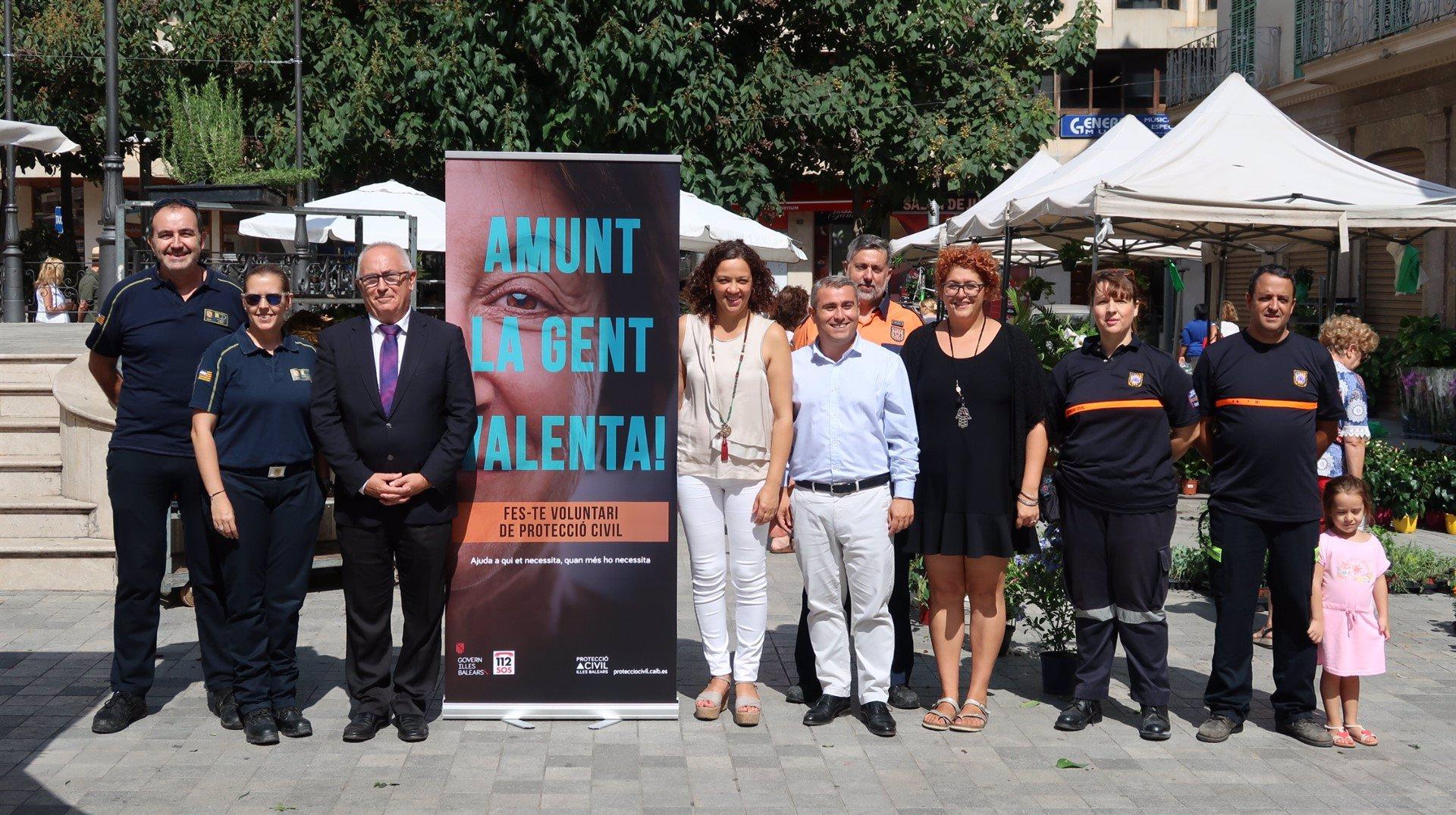 El Govern inicia una campaña para encontrar voluntarios de Protección Civil