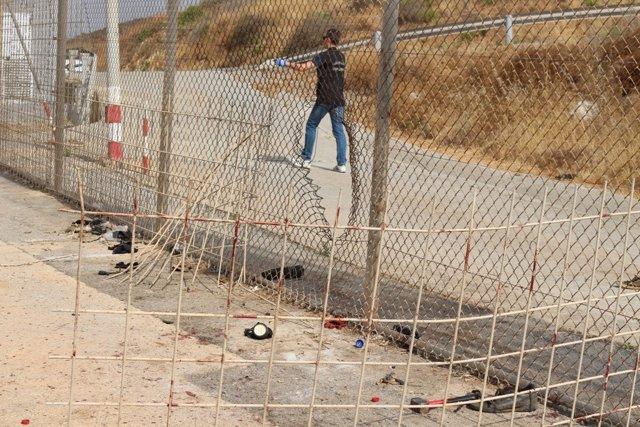 Salto a la valla de Ceuta