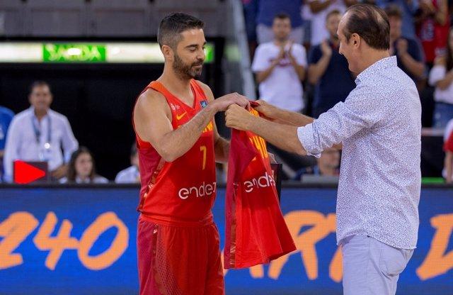 Juan Carlos Navarro Epi selección española España