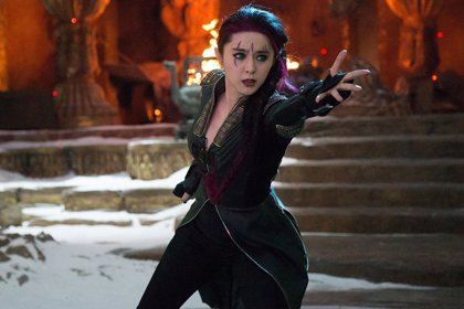 ¿Dónde está la superestrella china Fan Bingbing, Blink en X-Men?