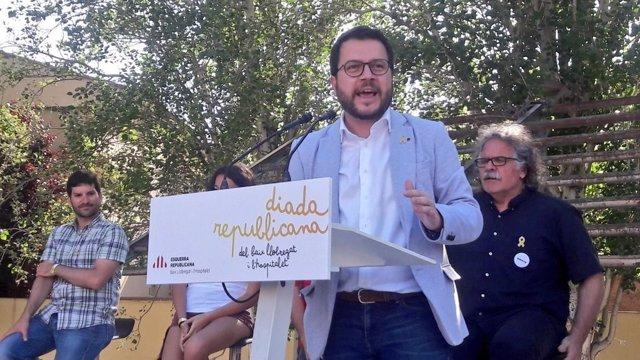 Pere Aragonès, ERC, vicepresident de la Generalitat