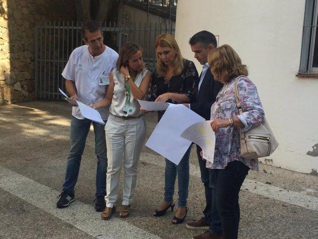 La delgada de Salud Ana ISabel González en MArbella