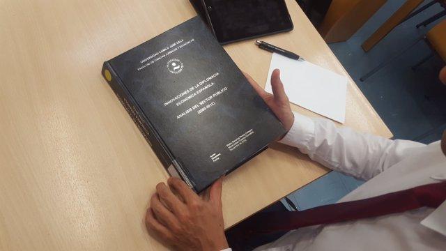Tesis doctoral de Pedro Sánchez en la Universidad Camilo José Cela