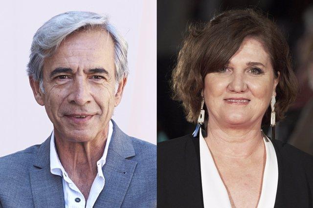 Imanol Arias y Ana Wagener