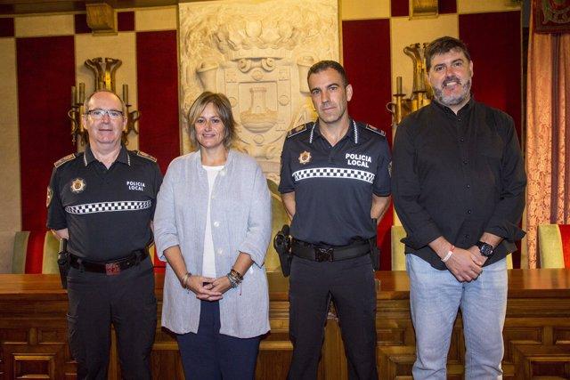 La Policía local de Camargo incorpora a un nuevo subinspector