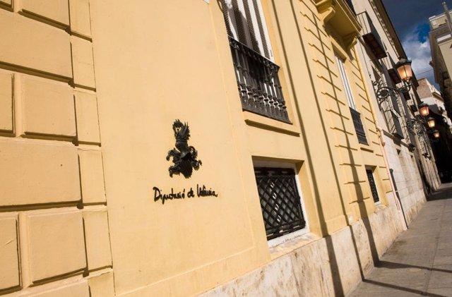 Façana de la Diputació de València