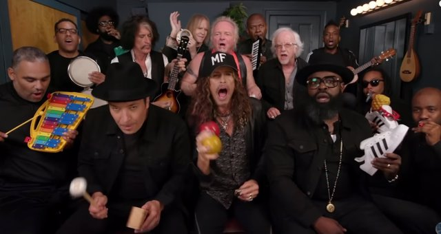 AEROSMITH CON JIMMY FALLON