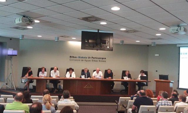 Asamblea del Consorcio de Aguas Bilbao Bizkaia