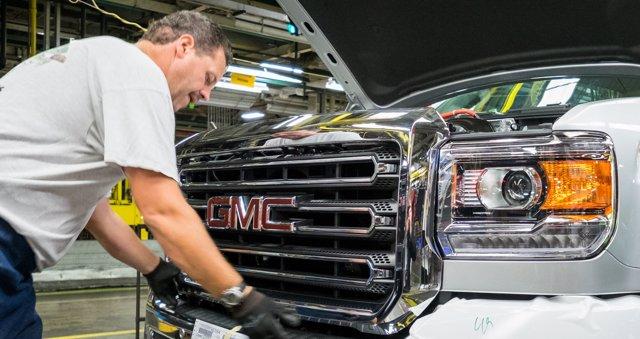 Planta de General Motors en Flint (Michigan)