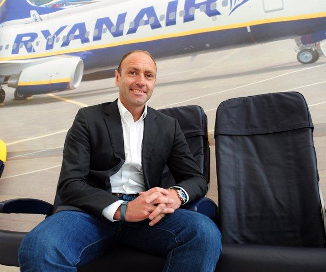 Kenny Jacobs, director de Marketing de Ryanair