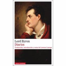 Portada de los diarios de Lord Byron