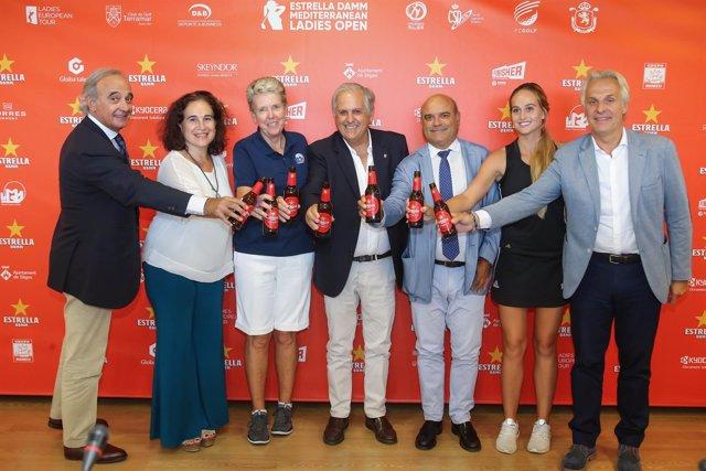 Presentación de la segunda edición del Estrella Damm Mediterranean Ladies Open