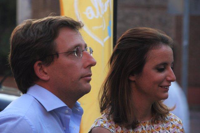 Martínez Almeida y Andrea Levy