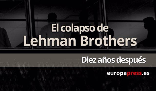 Portada caída de Lehman Brothers