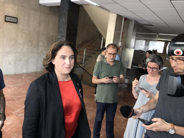 ARCHIVO / La alcaldesa de Barcelona, Ada Colau