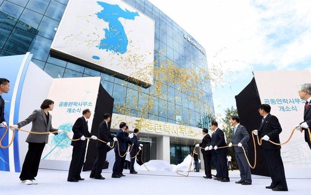 Inauguración de la oficina de enlace entre las dos Coreas