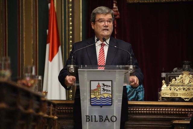 El alcalde de Bilbao, Juan María Aburto