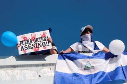 La oposición vuelve a manifestarse en Nicaragua contra el Gobierno de Daniel Ortega