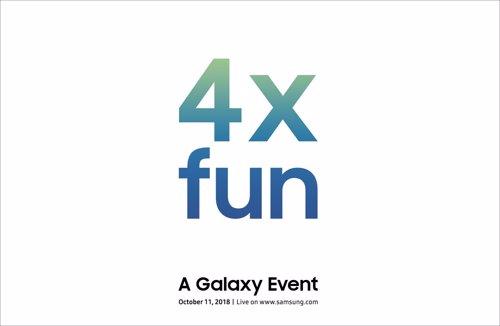 Presentación de Samsung el 11 de octubre