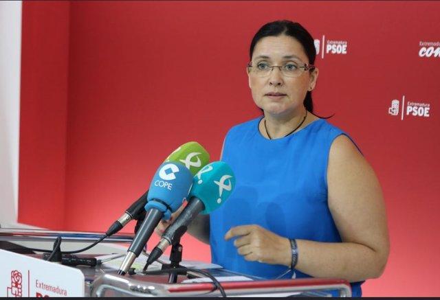 Secretaria de Organización del PSOE Marisol Mateos