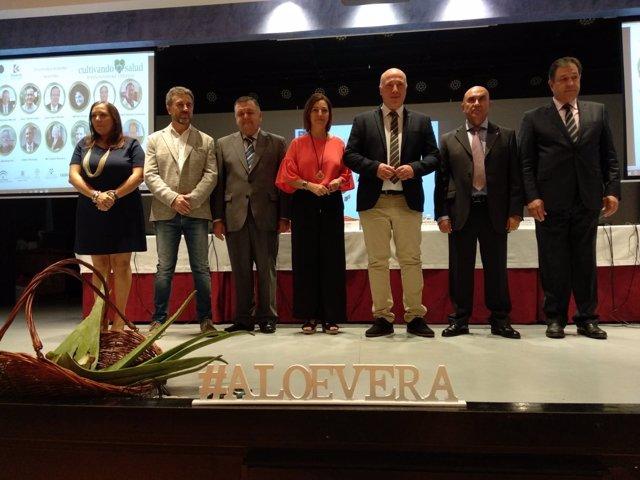 Autoridades inauguran el II Congreso Europeo del Aloe Vera