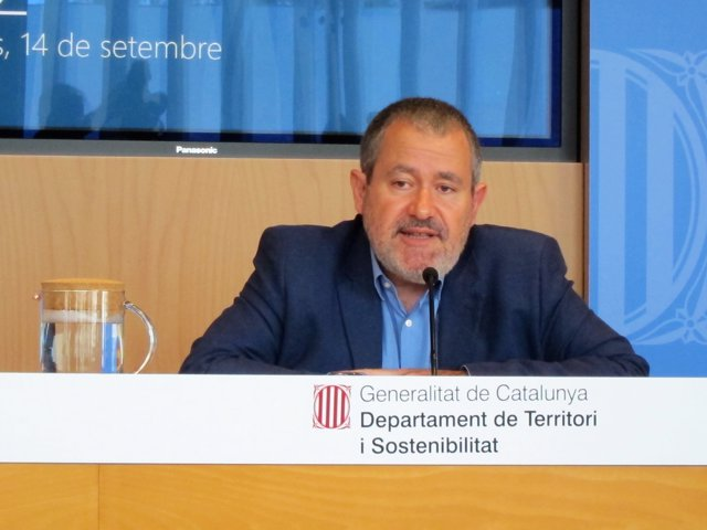 El dtor.gral.de Polítiques Ambientals Ferran Miralles