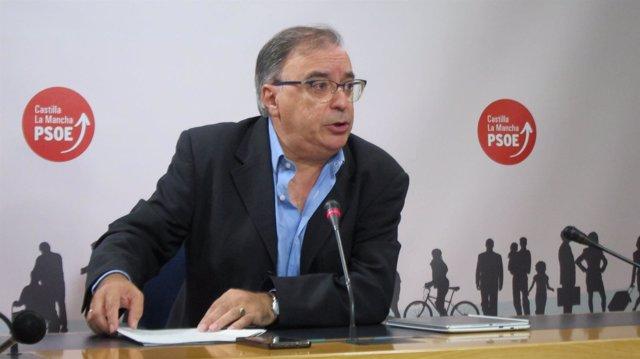 Fernando Mora en rueda de prensa