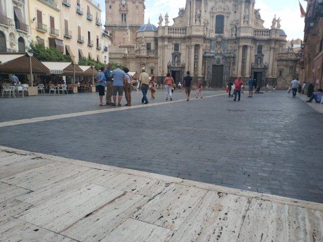 Plaza Belluga de Murcia