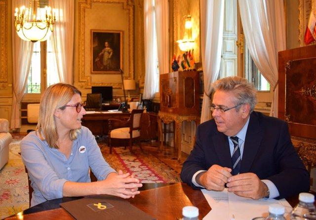 Ignacio Sánchez y Elsa Artadi