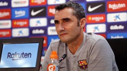 """Valverde: """"Messi está más fresco y puedes esperar lo mejor"""""""