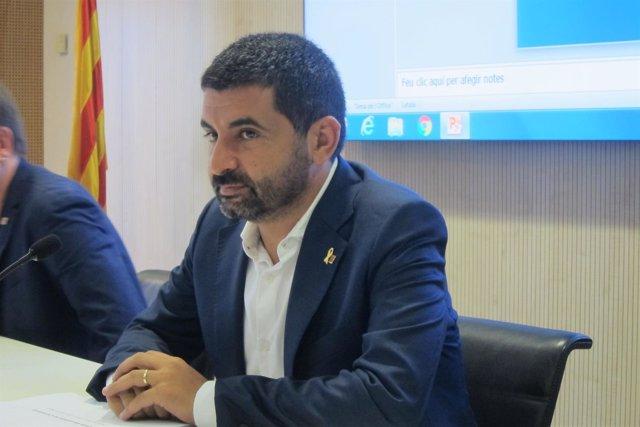 El conseller de Treball, Assumptes Socials i Famílies, Chakir El Homrani