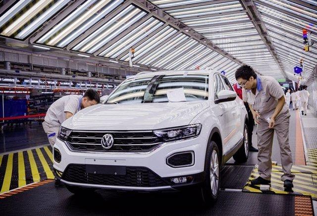 Planta de producción de Volkswagen en China