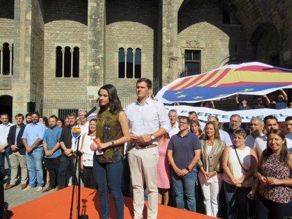 Rivera y Arrimadas encabezarán este sábado un acto de España Ciudadana en Barcelona