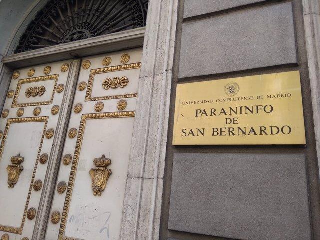 Paraninfo de San Bernardo de la UCM
