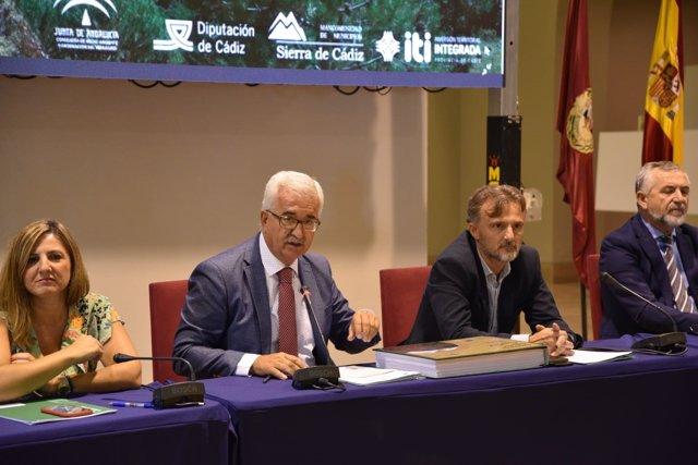 Jiménez Barrios y José Fiscal en Cádiz