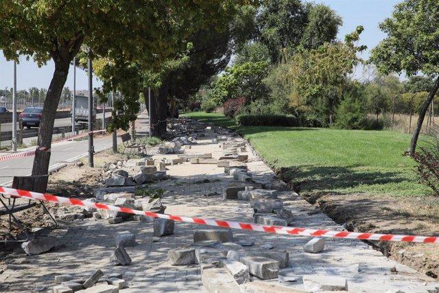 Renovación parque en Getafe