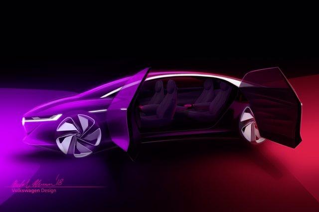 Nuevo prototipo de I.D. Vizzion de Volkswagen