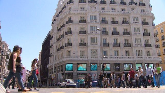 Inauguración del nuevo hotel NH en Madrid