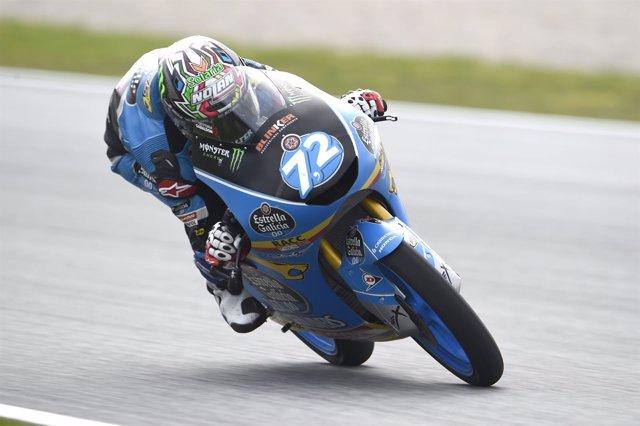 Alonso López, piloto de Moto3