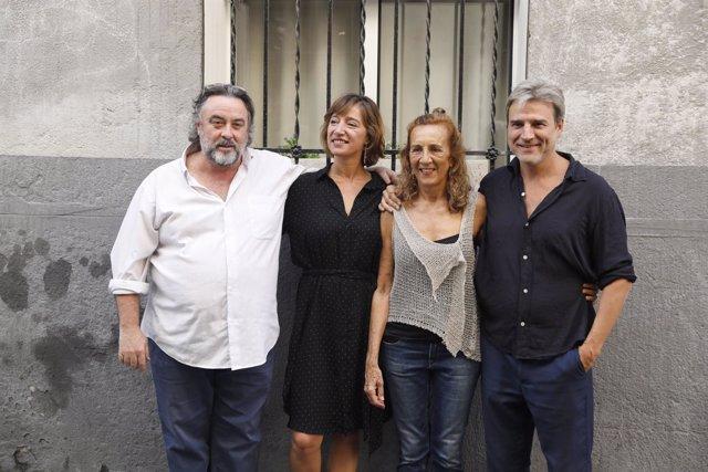 Presentación de la obra El pan y la sal del Teatro Español de Madrid